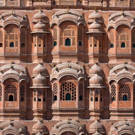 Hawa Mahal, the Palace of Winds, Jaipur, Rajasthan, India. Stock Photo - 21794466