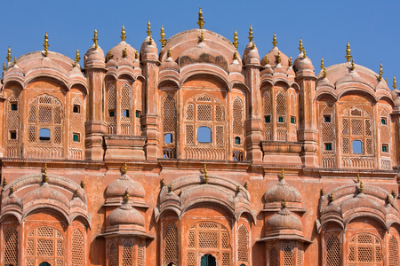 mughal empire: Hawa Mahal, the Palace of Winds, Jaipur, Rajasthan, India