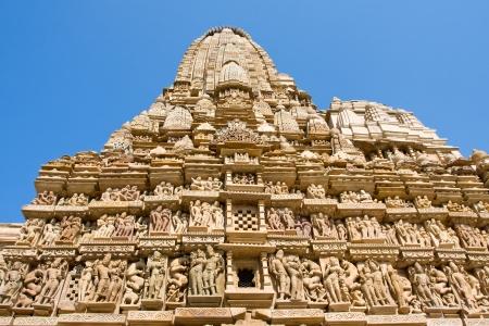Vishwanatha hindu temple in Khajuraho, India photo