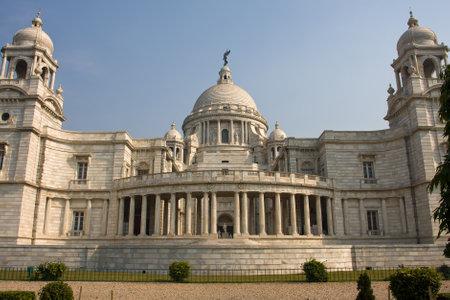 calcutta: Landmark building of Calcutta or Kolkata, Victoria Memorial