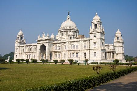 Kenmerkende gebouw van Calcutta of Kolkata, Victoria Memorial