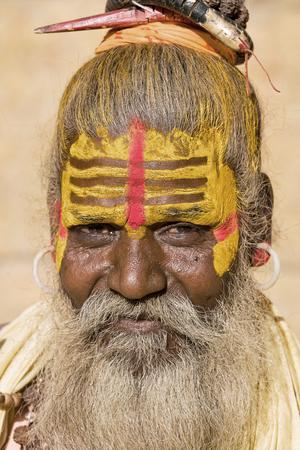 Indian sadhu (holy man). Jaisalmer, Rajasthan, India. Stock Photo - 22855065