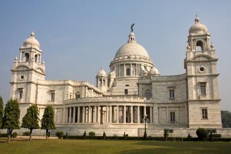 Landmark building of Calcutta or Kolkata, Victoria Memorial