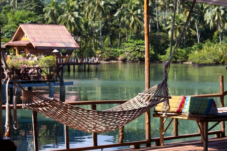 A wonderful place for relaxation in island Koh Chang ,Thailand photo