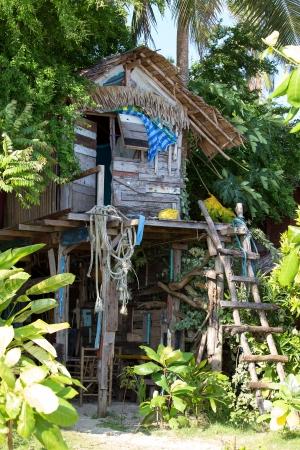 chang: Tropical beach house in island Koh Chang ,Thailand