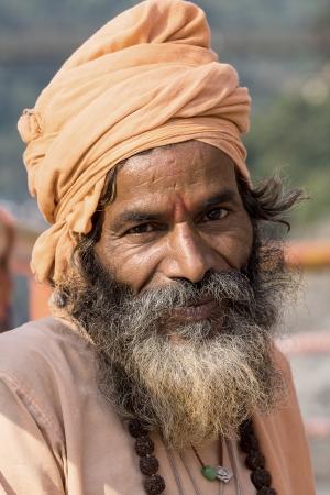 Indian sadhu  holy man   Devprayag, Uttarakhand, India Stock Photo - 24097729