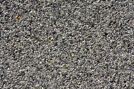 granite floor: Gray small granite stone floor background Stock Photo