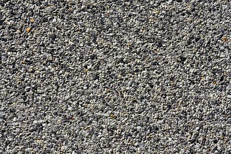 Gray small granite stone floor background Imagens