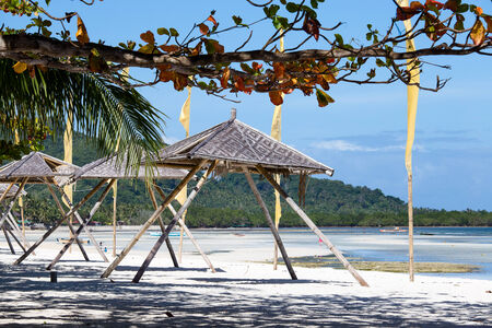 bohol: Tropical beach in Anda, Bohol island, Philippines Stock Photo