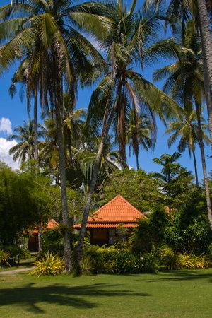 Tropical beach house on the island Koh Kood, Thailand