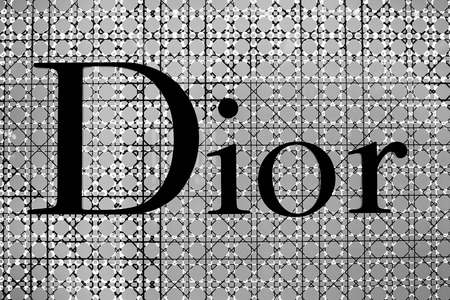 chaired: BANGKOK,THAILAND - NOVEMBER 18, 2013 : The sign of Dior at Dior store in Siam Paragon Mall in Bangkok. It is a French company controlled and chaired by Bernard Arnault who also heads Louis Vuitton.