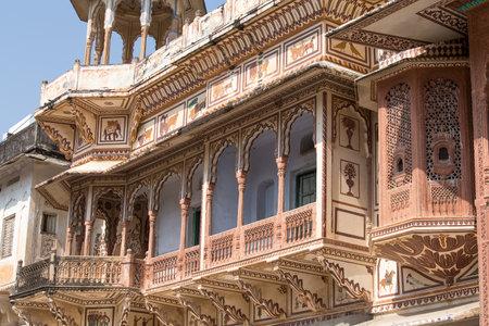Haveli, mansion in Pushkar, Rajasthan, India