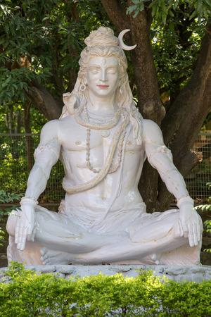 Shiva statue in Rishikesh, India photo
