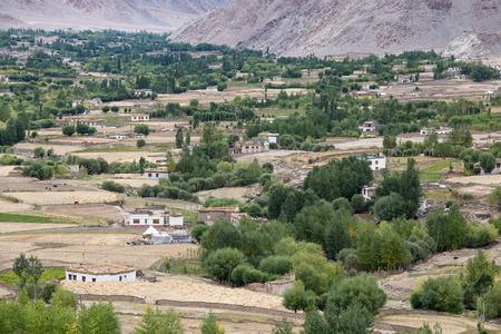 ladakh: View from Likir monastery, Ladakh, India