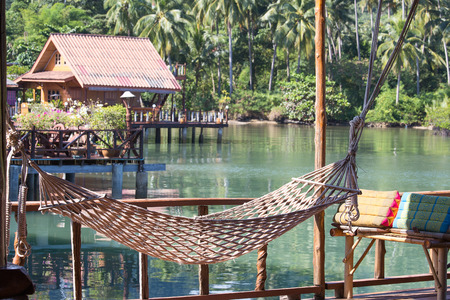 wonderful thailand: Wonderful place for relaxation in island Koh Chang ,Thailand Stock Photo