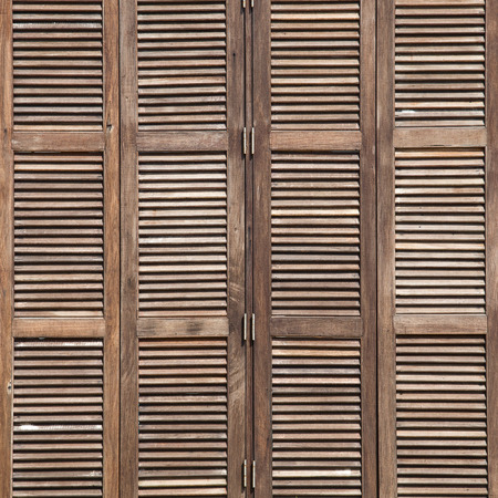 latticed: Background latticed wooden doors in the tropical house