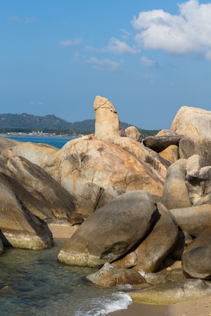 'koh samui': Hin Ta and Hin Yai Rocks , grandmother and grandfather rock in Koh Samui, Thailand