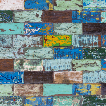 Abstract grunge old color wood texture background Stock Photo