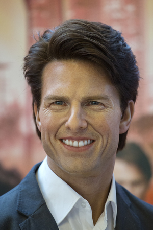 BANGKOK, THAILAND - JANUARY 20, 2015 : Tom Cruise, the American actor is the museum of the wax figures Madame Tussauds in Bangkok, Thailand Editorial