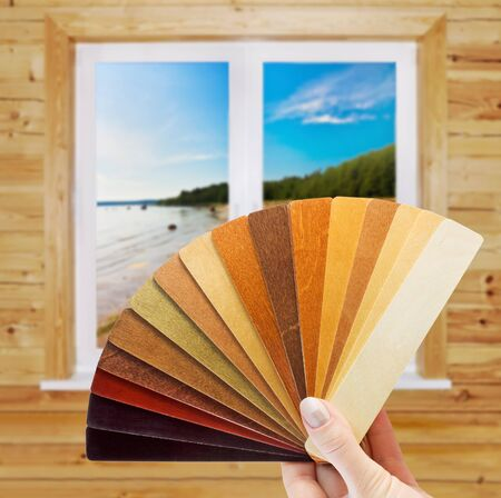 Selection of materials for home decoration Stock Photo - 10798672