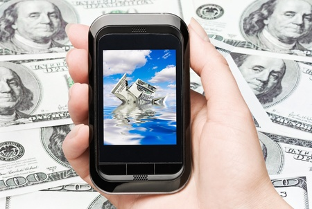 collapse of the world financial system and currency  Stock Photo - 10924262