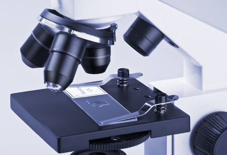 optical equipment:   viewed under a microscope samples micropreparations