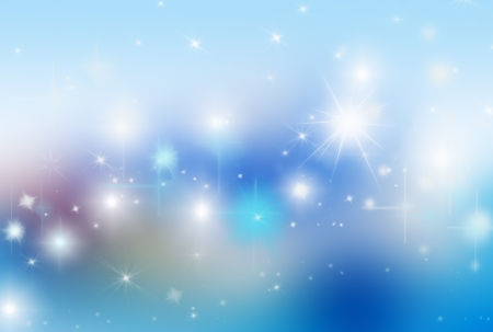 blue stars: blue background with highlights and stars