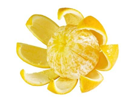 sours: orange flower isolated on white