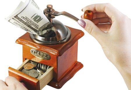 cash machine isolated on white background Stock Photo - 11484734