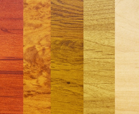 revestimientos: Varias muestras de los revestimientos de madera diferentes