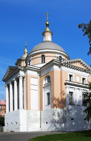 scrying: Church of Great Martyr Barbara. Moscow. Russia.