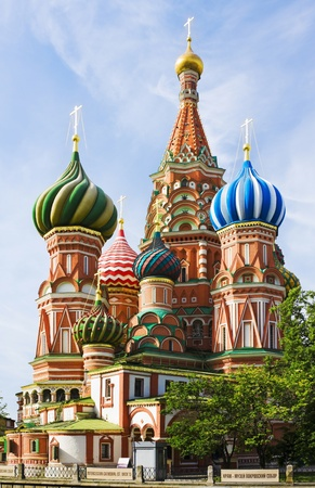 St  Basil  Cathedral of the Protection of the Virgin on the Ditch  Moscow Stock Photo - 12457015