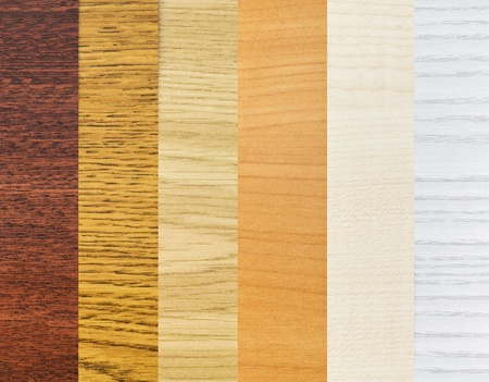 coatings: background color of the samples of wood coatings