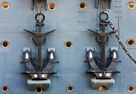 Anchors of Cruiser Aurora,  photo