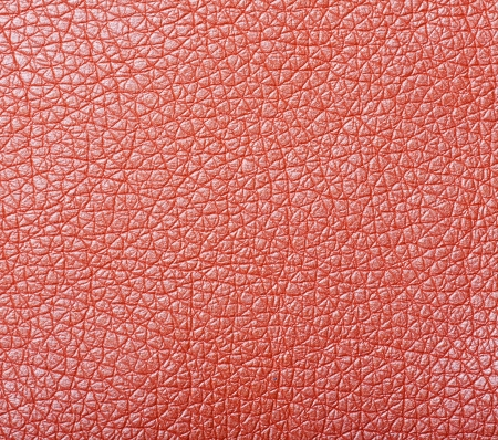 sample of orange leather upholstery texture photo