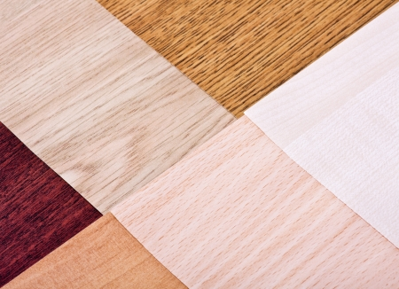 wood color and texture samples laminate photo