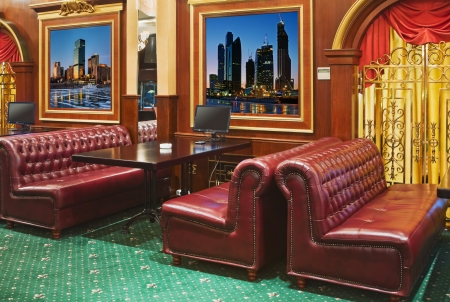 game room with sofas and tables in entertainment venues photo