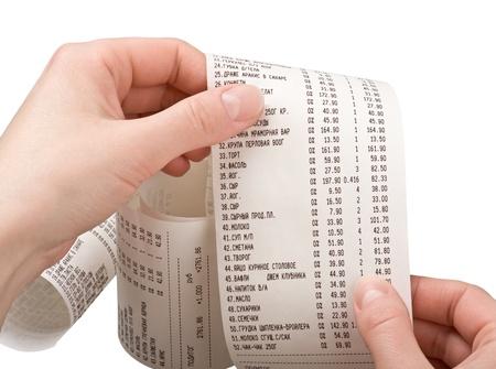 cash receipt: cashier