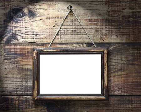 Blackboard with space for text or insert pictures photo