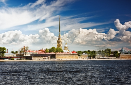 st petersburg: Peter and Paul Fortress, Saint Petersburg, Russia