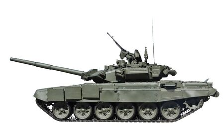 T-90S Main Battle Tank, Russia isolated on white background photo