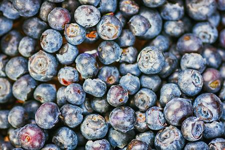bilberries: fresh blueberries (bilberries) background Stock Photo