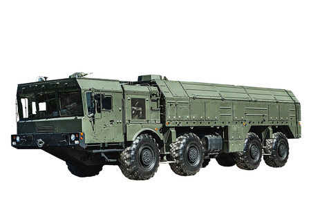 Iskander-M missile, equipped with a new cruise missile R-500 photo