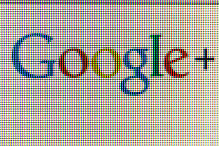 Moscow, Russia - September 24, 2014: Google icon on computer screen. Google is one of the most popular search engines.