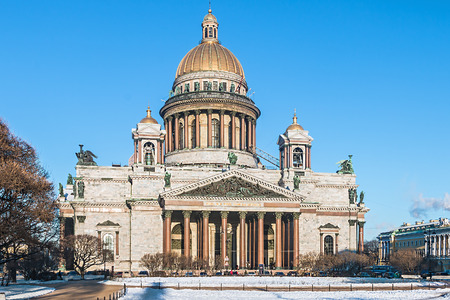 isaac: Saint Isaac cathedral in St Petersburg, Russia Stock Photo