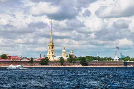 paul: Peter and Paul Fortress, St. Petersburg, Russia Stock Photo