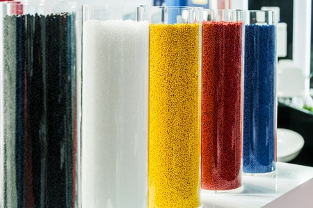colored plastic granules for the production of plastic and polypropylene products