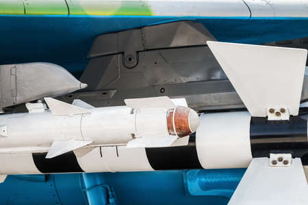 ammunition for air-to-ground and air-to-air missiles mounted under the wing of a combat aircraft