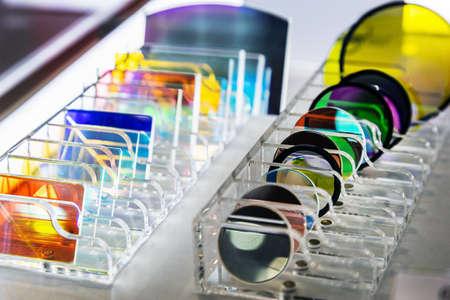 lenses and glasses made of quartz glass for instrument optics