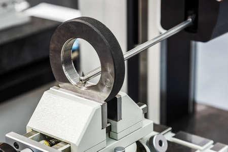 machine operation contour and roughness measurement systems Foto de archivo
